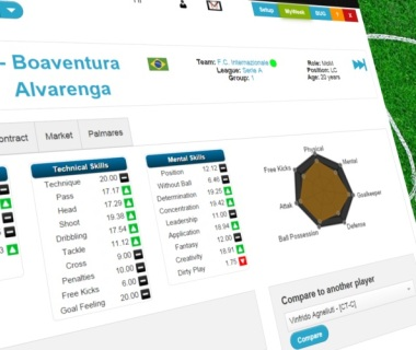 Soccer manager game of football management online totally free player pagescreenshot gumiabroncs Gallery